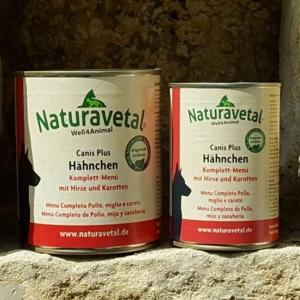 Naturavetal Komplett-Menü Hähnchen