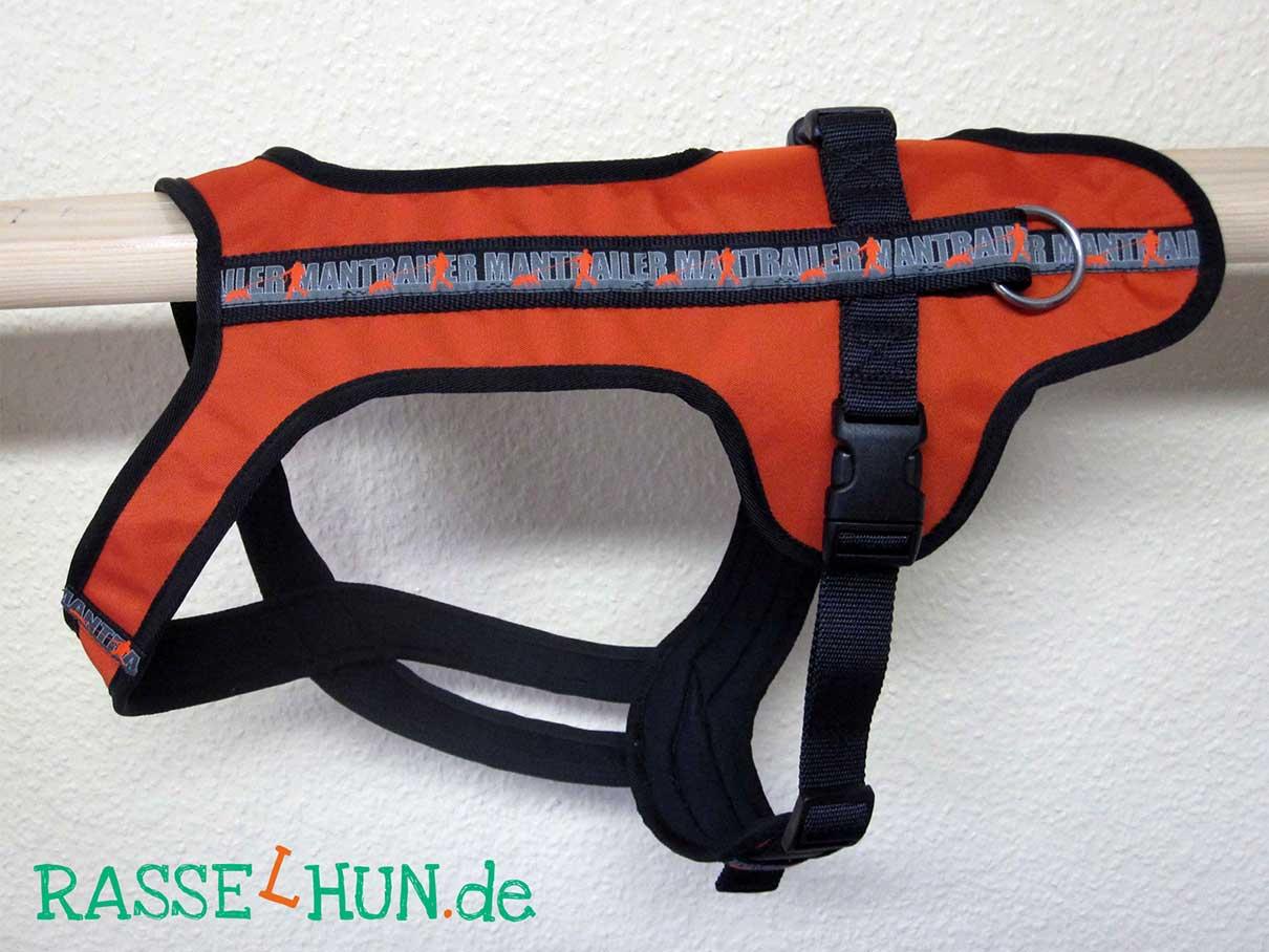 Trailgeschirr orange